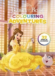 Disney: Beauty and the Beast Colouring Adventures | Paperback Book