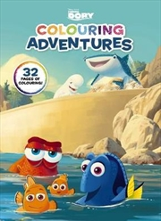 Disney: Finding Dory Colouring Adventures | Paperback Book