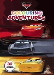 Disney Pixar Cars: Colouring Adventures | Paperback Book