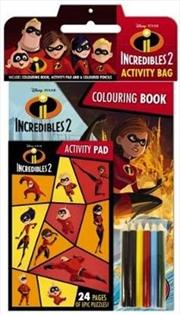 Disney Incredibles 2:  Activity Bag | Paperback Book