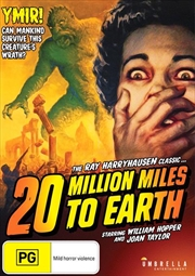 20 Million Miles To Earth | DVD