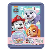 Paw Patrol Purple Happy Tin | Hardback Book