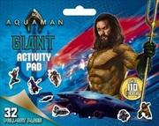 DC Comics: Aquaman Giant Activity Pad | Paperback Book