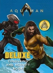 DC Comics: Aquaman Deluxe Colouring and Activity Book | Paperback Book