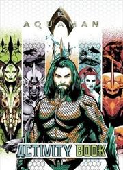 DC Comics: Aquaman Colouring and Activity Book | Paperback Book