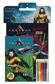 Dc Comics: Aquaman Activity Bag