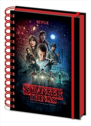 Stranger Things (One Sheet)  A5 Wiro Notebook | Merchandise