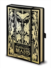 Fantastic Beasts - The Crimes Of Grindelwald - A5 Notebook