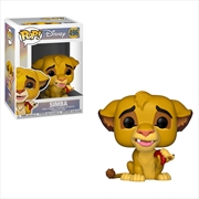 Lion King - Simba Pop! Vinyl | Pop Vinyl