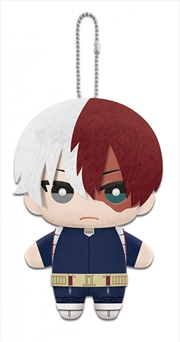 My Hero Academia Plush Dangler Todoroki 6""