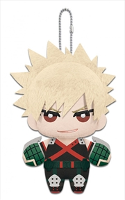 My Hero Academia Plush Dangler Bakugo 6""