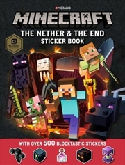 Minecraft The Nether and the End Sticker Book | Paperback Book