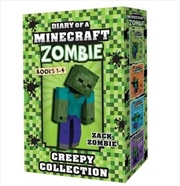 Minecraft Zombie Creepy Collection #1-4 | Paperback Book