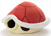 Mocchi Mocchi Mario Kart Plush Large Red Shell