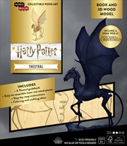 Incredibuilds J.K. Rowling's Wizarding World Thestral 3D Wood Model and Book