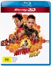 Ant Man And The Wasp | Blu-ray 3D