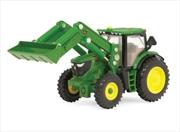 1:64 Scale John Deere 6210R Tractor w/Loader
