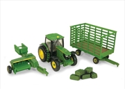 1:64 Scale John Deere Haying Set