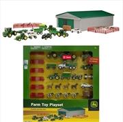 John Deere 70 Piece Mini Vehicle Value Set