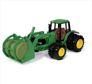 John Deere 20cm 7220 Tractor w/ Bale Mover