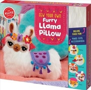 Sew Your Own Furry Llama Pillow : Klutz