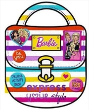 Barbie: Express Your Style Deluxe Activity Book | Paperback Book