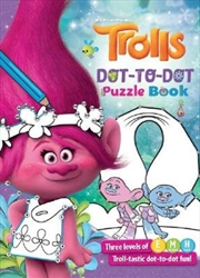 Dreamworks: Trolls Dot-to-Dot | Paperback Book