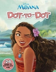 Disney: Moana Dot-To-Dot