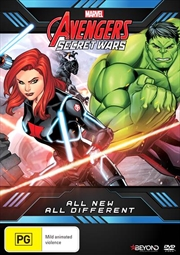 Avengers Secret Wars - All New All Different | DVD