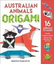 Australian Animals Origami Kit