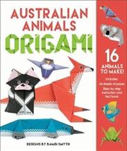 Australian Animals Origami Kit | Hardback Book