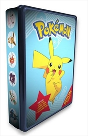 Official Pokemon Tin | Hardback Book