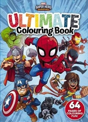 Marvel: Super Hero Adventures Ultimate Colouring Book | Paperback Book