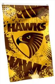 AFL Cape Flag Hawthorn Hawks | Merchandise