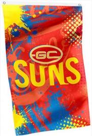 AFL Cape Flag Gold Coast Suns | Merchandise