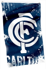 AFL Cape Flag Carlton Blues
