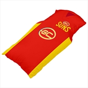 AFL Cushion Guernsey Gold Coast Suns | Homewares
