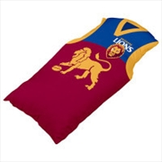 AFL Cushion Guernsey Brisbane Lions | Homewares