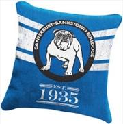 NRL Heritage Cushion Canterbury-Bankstown Bulldogs