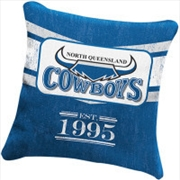 NRL Heritage Cushion North Queensland Cowboys