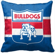 AFL Cushion 1st Team Logo Western Bulldogs