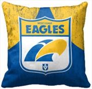 AFL Cushion 1st Team Logo West Coast Eagles | Homewares