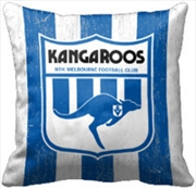 AFL Cushion 1st Team Logo North Melbourne Kangaroos | Homewares