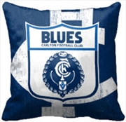AFL Cushion 1st Team Logo Calton Blues | Homewares