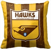 AFL Cushion 1st Team Logo Hawthorn Hawks | Homewares