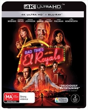 Bad Times At The El Royale | Blu-ray + UHD