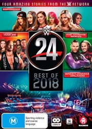 WWE - WWE 24 - The Best Of 2018 | DVD