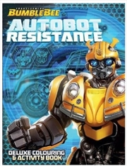 Transformers Bumblebee Autobot Resistance Deluxe Colouring Book