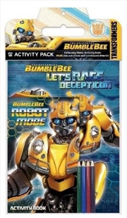 Transformers Bumblebee - Activity Pack | Hardback Book