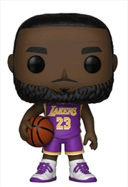 NBA: Lakers - Lebron James (Purple) US Exclusive Pop! Vinyl [RS]